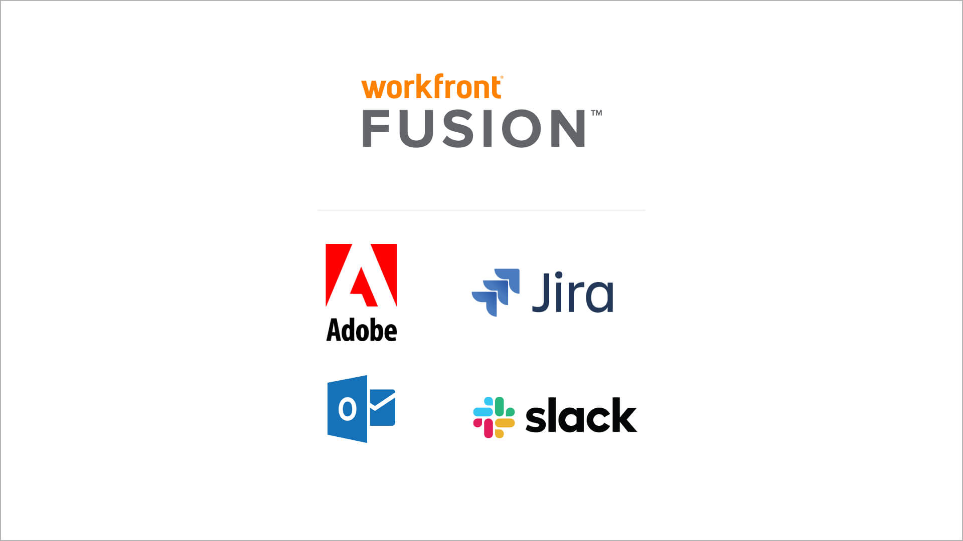 Out-of-the-box integrations.