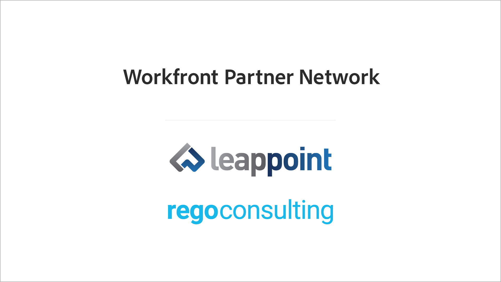 Leappoint and Regoconsulting logos