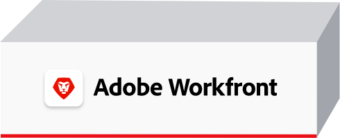 Red Highlighted Adobe Workfront Box