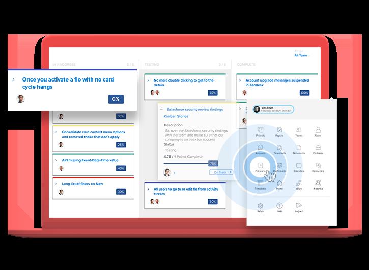 workfront product tour screenshot