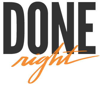 Done Right Logo