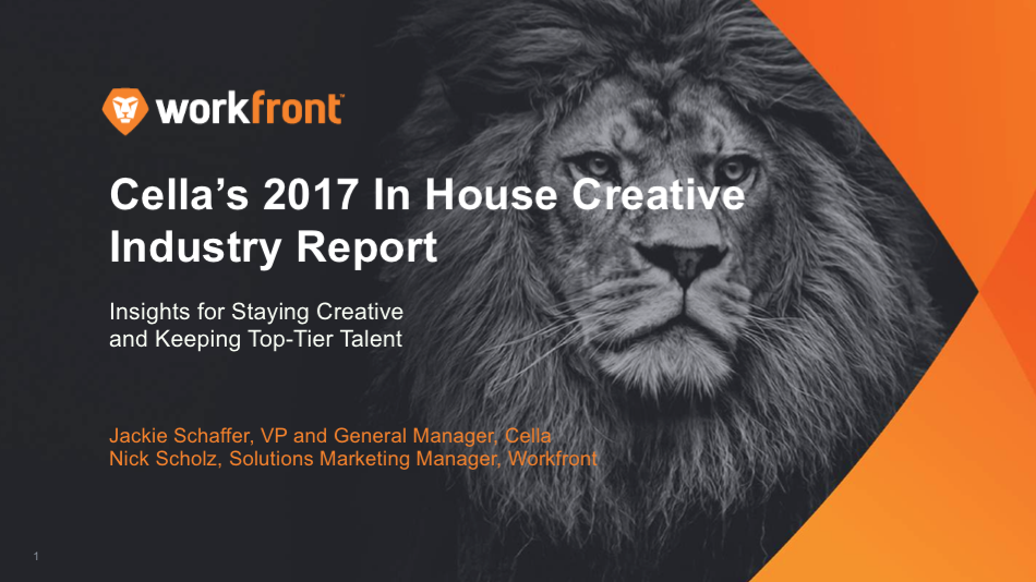 Cella's Industry Report — Insights for Staying Creative & Keeping Top-Tier Talent: Part 1 Primary tabs