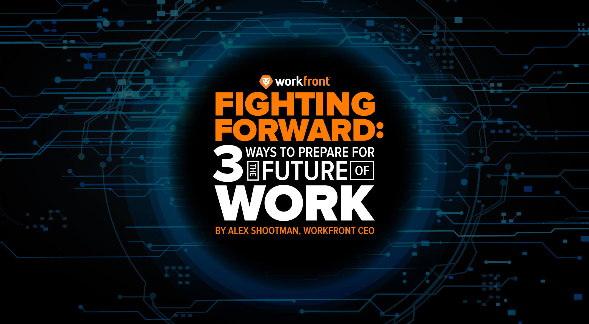 Three ways to prepare for the future of work