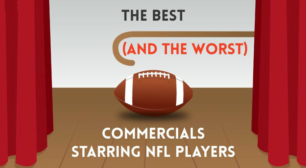 the best commercials starring NFL players