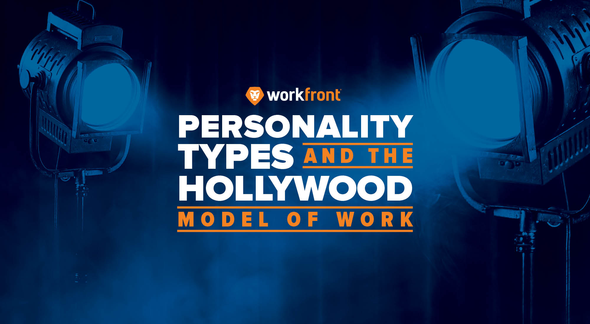 Personality Types and the Hollywood Model of Work