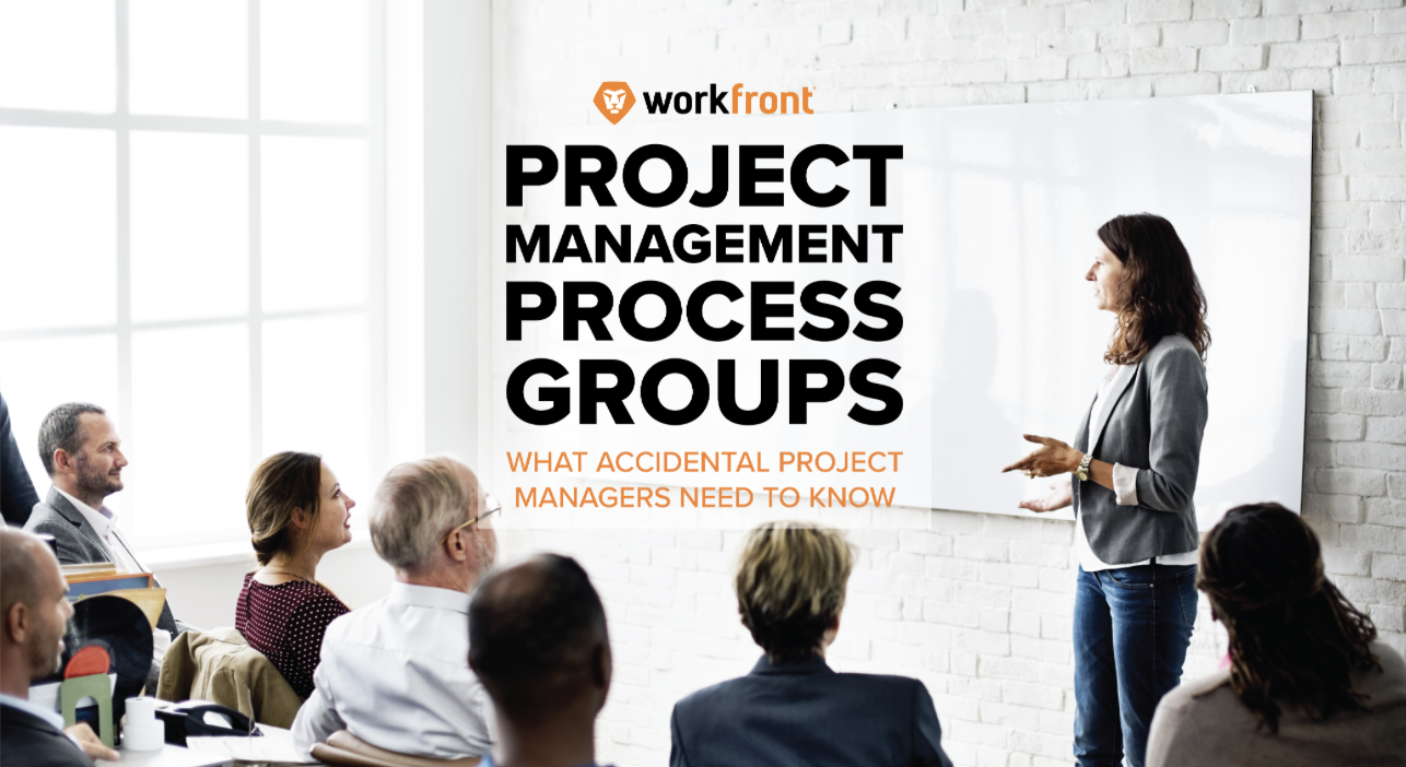 Project Management Process Groups What Accidental Project Managers
