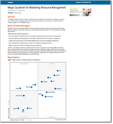 Workfront Recognized as a Leader in the Gartner 2016 Magic Quadrant