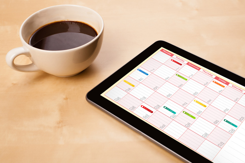 Use an interactive calendar to make managing your workload easier