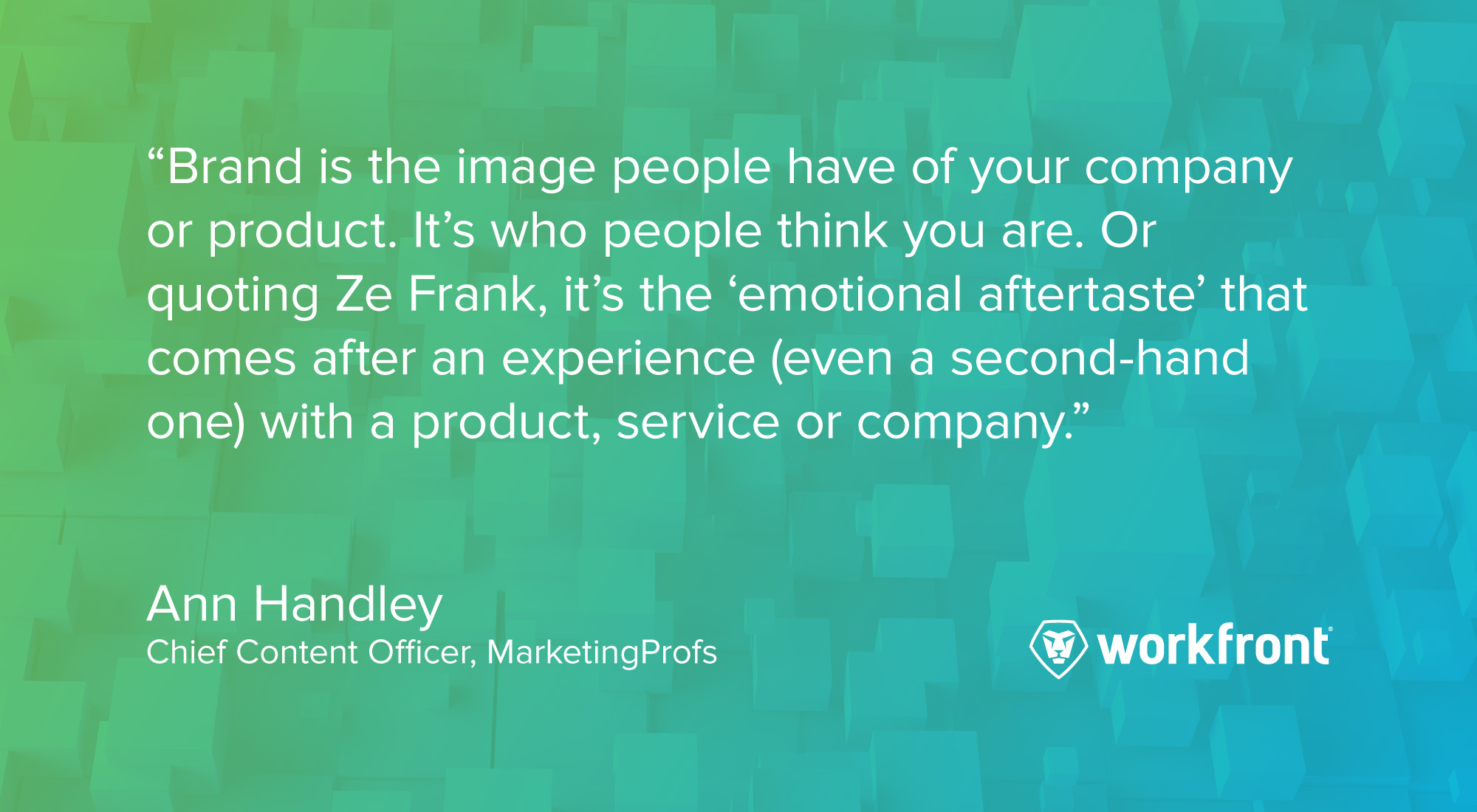 brand quote ann handley
