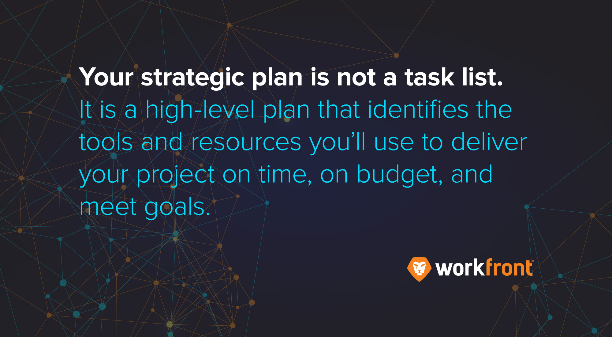 Project Management: How to Develop a Strategic Plan   Workfront