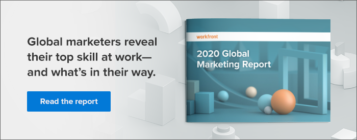 Read the Workfront 2020 Global Marketing Report to learn how enterprise work management enables marketers to be creative and agile.