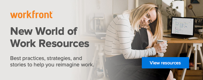 Visit the new world of work resources page for tips on how to navigate this era of work disruption