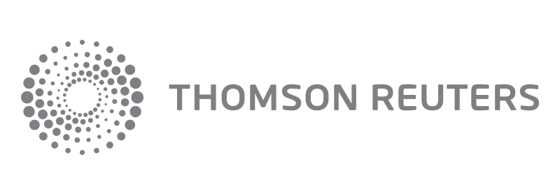 Thomson Reuters Grey Logo