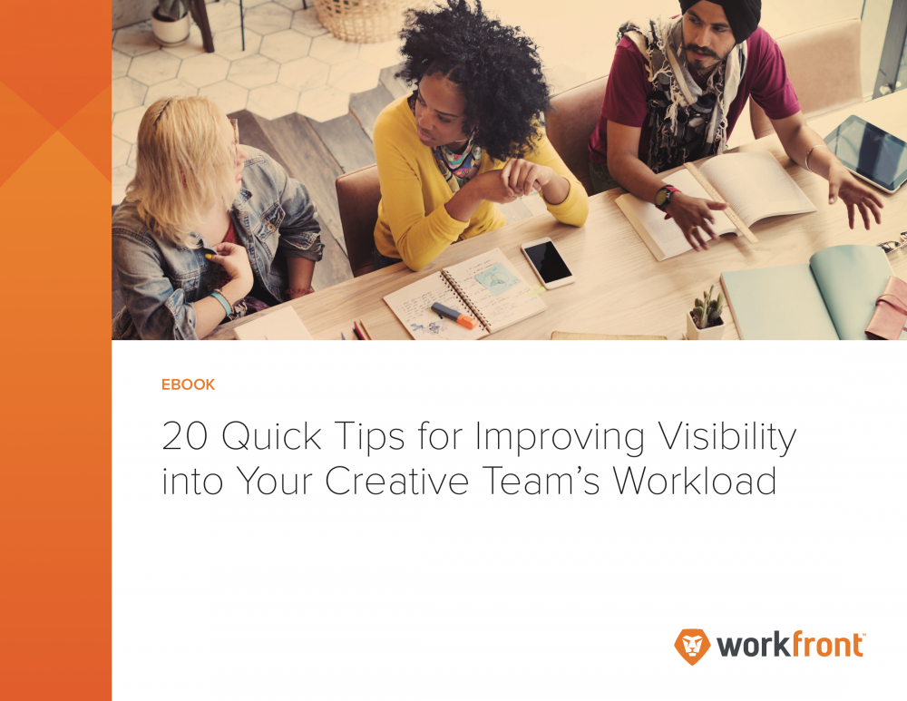 Improve Workload Visibility for Your Creative Services Team