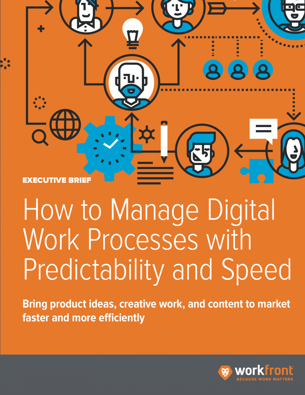 How to Manage Digital Work Processes with Predictability and Speed