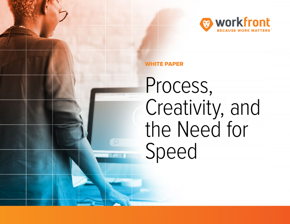 Process, Creativity, and the Need for Speed