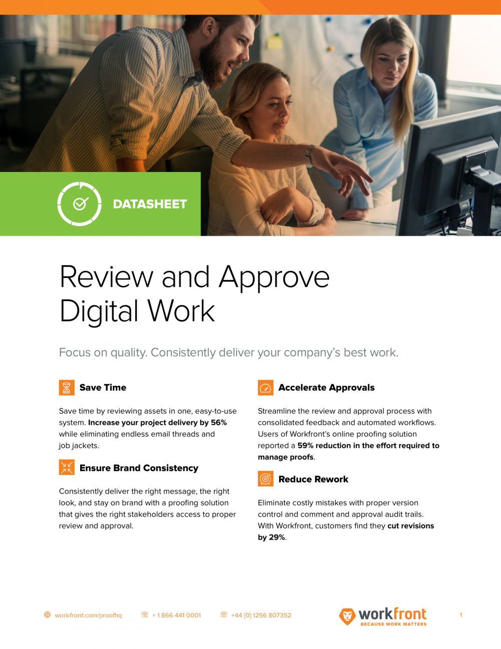 Review and Approve Digital Work Datasheet
