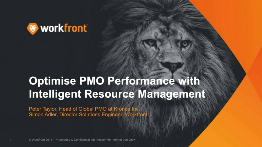 Optimise PMO Performance With Intelligent Resource Management