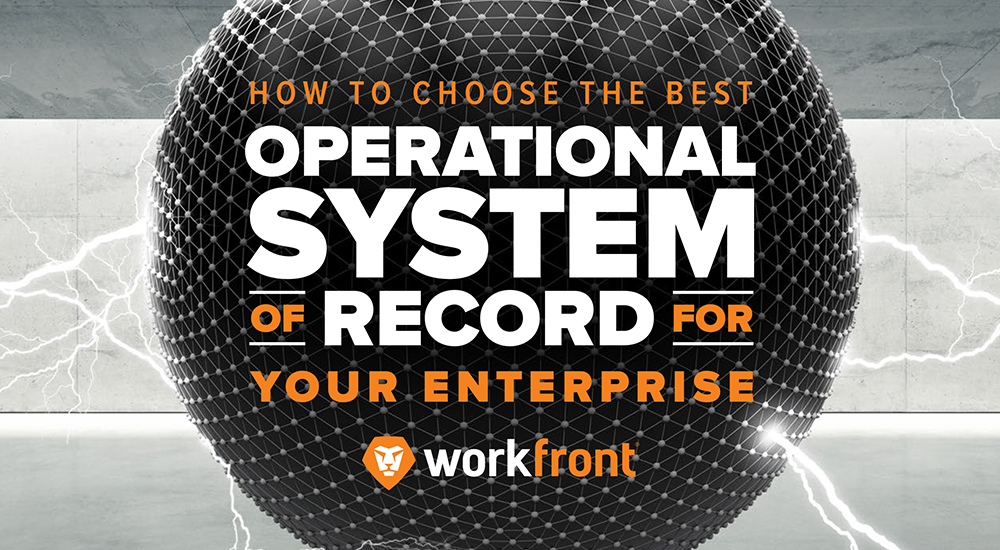 best operational system of record for your enterprise