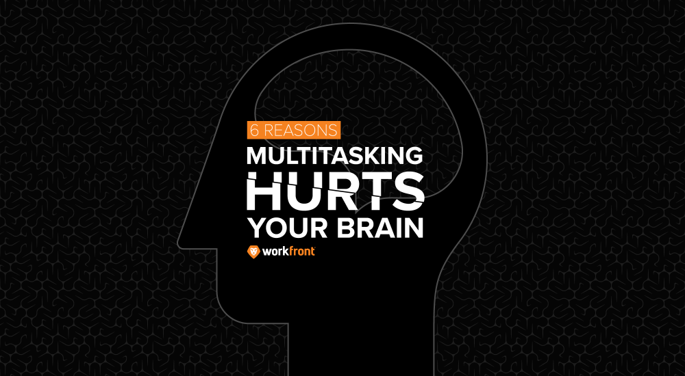 multitasking hurts your brain