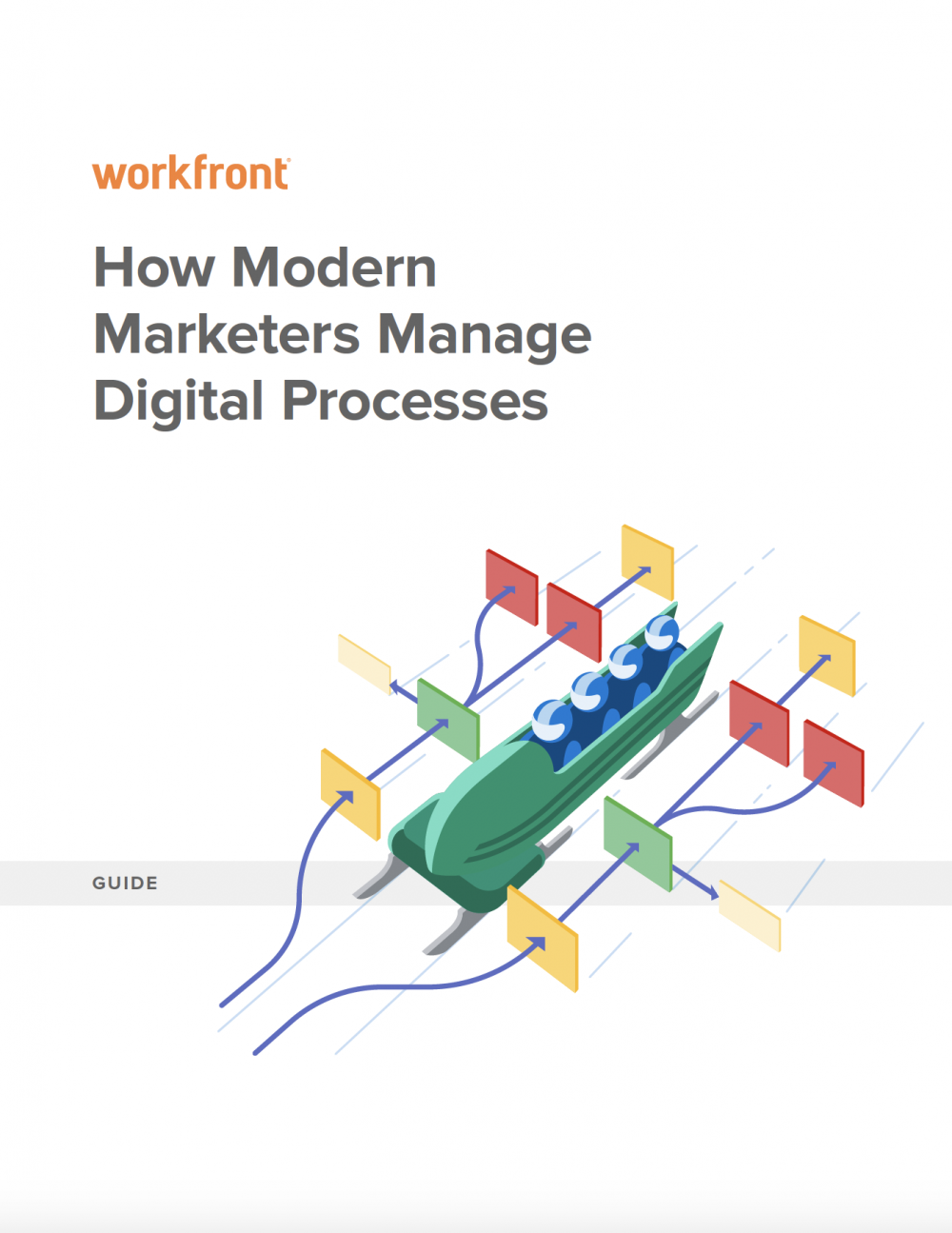 How Modern Marketers Manage Digital Processes
