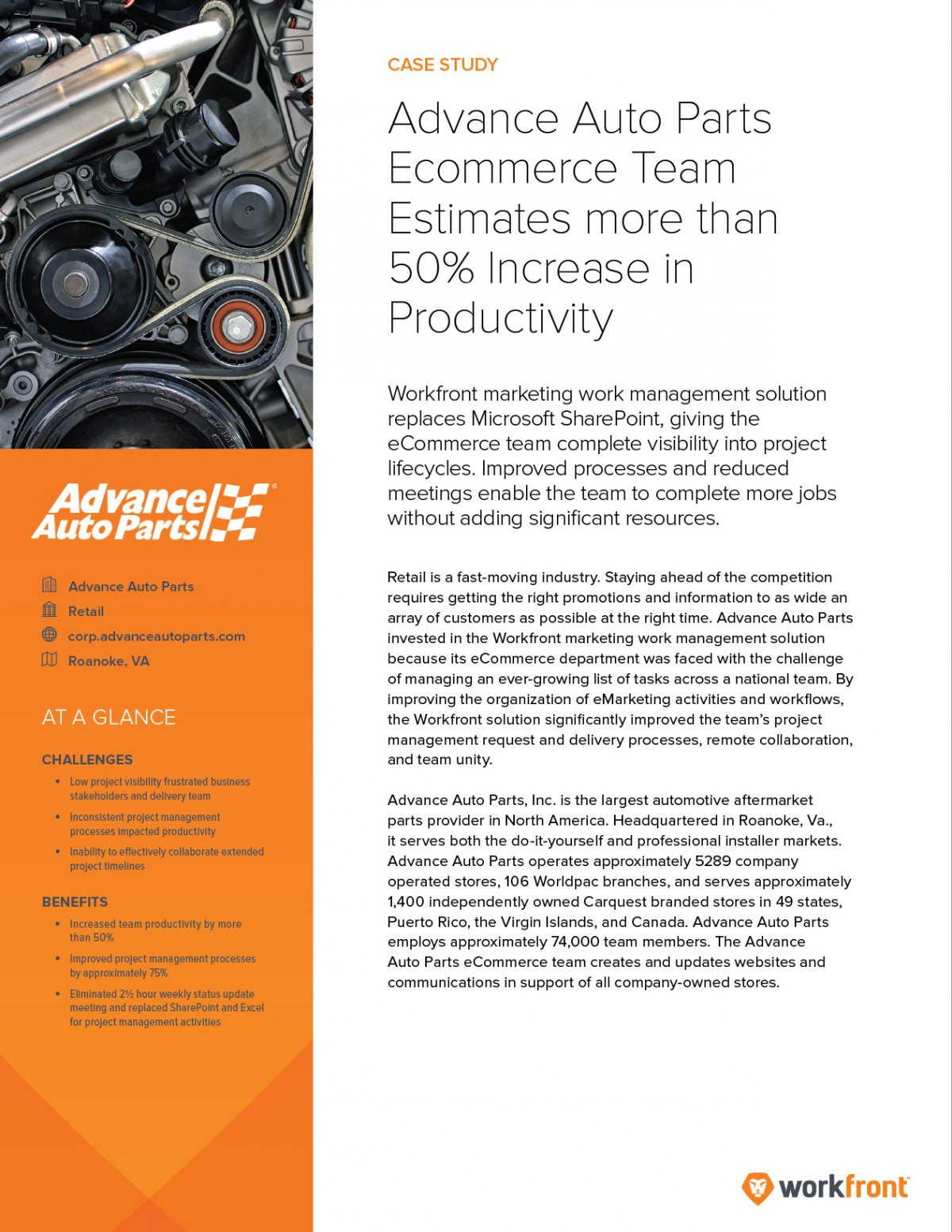 case study union and auto parts Learn how i recently solved a problem using joins, subqueries, and unions in the same query to solve a complicated request  it would be a great case study for you .