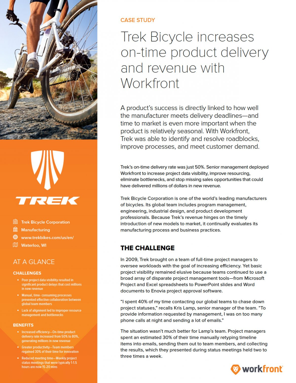Trek Bicycle Case Study