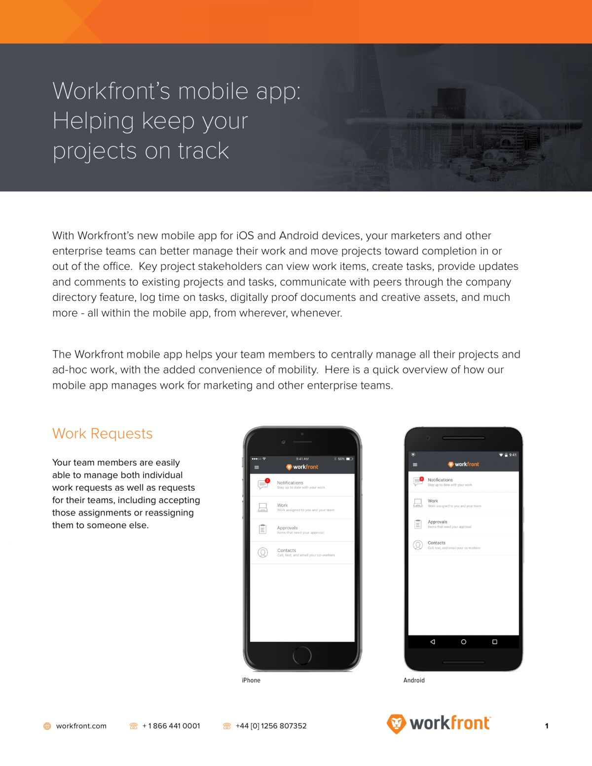 Workfront's mobile app: Devour work chaos while on-the-go