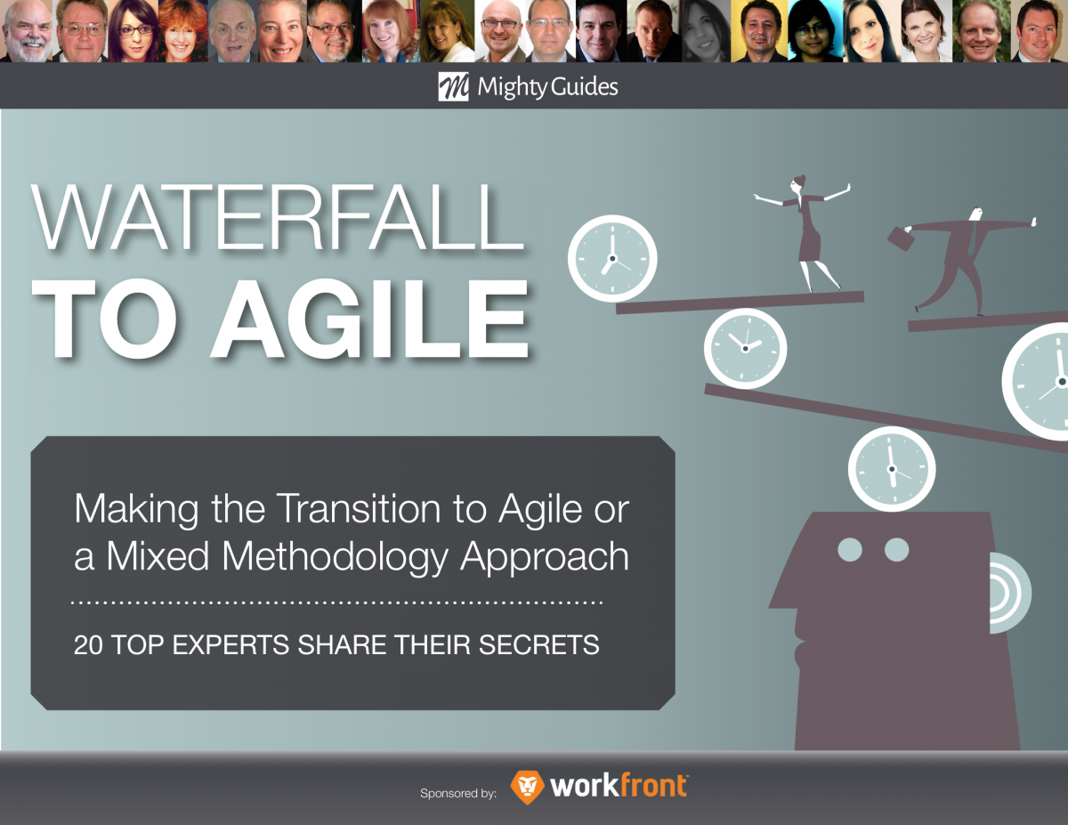 20 Experts Share Secrets For Balancing Agile and Waterfall