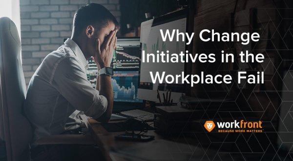 Why change initiatives fail