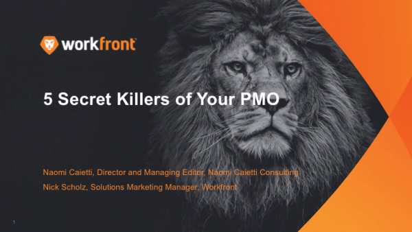 5 Secret Killers of Your IT PMO