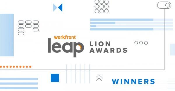 Leap 2020 Lion Award winners