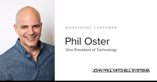 Phil Oster is the Vice President of Technology at John Paul Mitchell Systems