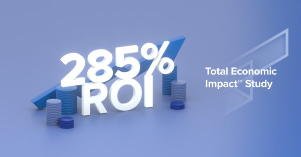 Workfront customers achieve a 285 percent ROI with Workfront over three years