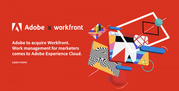 Adobe to acquire Workfront