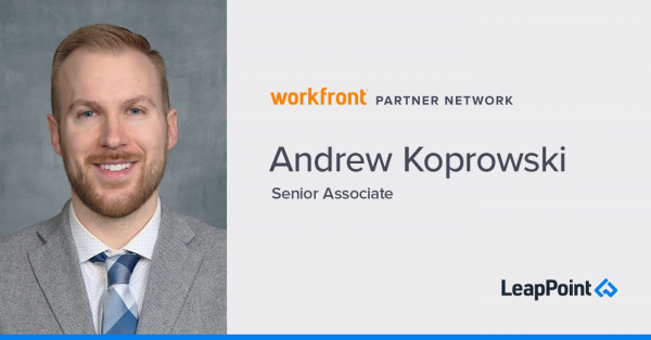 Headshot of Andrew Koprowski, Senior Associate at LeapPoint