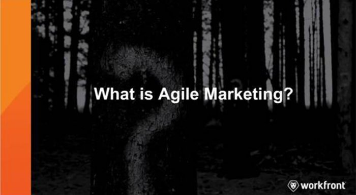 Agile Marketing 101 Training