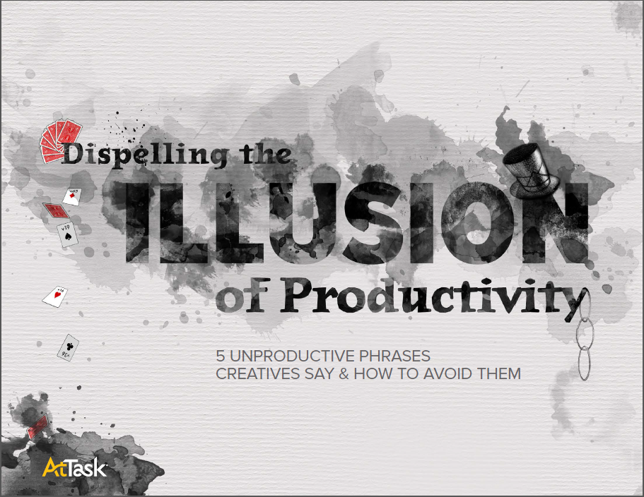 the illusion of productivity