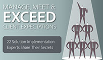 Manage, Meet, and Exceed Client Expectations